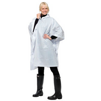 Game Day Poncho - (printed with 1 colour(s)) 5050WH_RNG_DEC