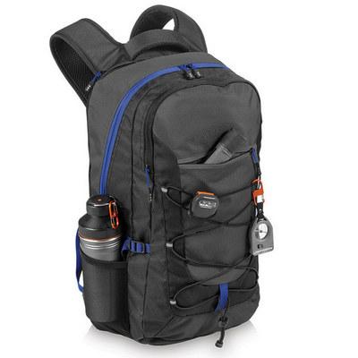 Elevate Milton 15.4 inch Laptop Outdoor Backpack EV1007BK_RNG_DEC