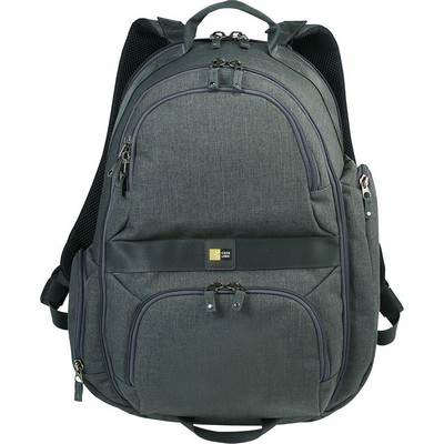 Case Logic� Berkeley Laptop Backpack - (printed with 1 colour(s)) CL1003GY_RNG_DEC