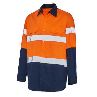 Hi-Vis Day  Night Long Sleeve Safety Shirt