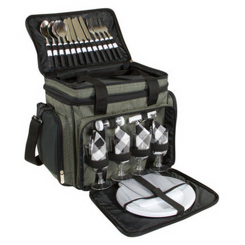 4 person picnic bag with cooler G1417_ORSO