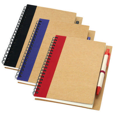 A5 Recycled notebook G1509_ORSO