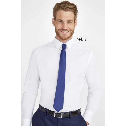 GARNER POLYESTER SATIN TIE - (printed with 4 colour(s)) S02932_ORSO_DEC