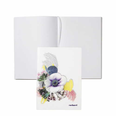Cacharel Note pad A5 Madeleine White - (printed with 1 colour(s)) CNH937F_ORSO_DEC