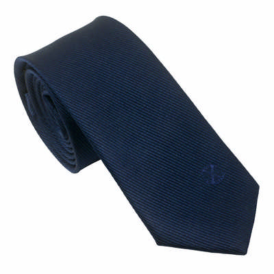 Christian Lacroix Silk Tie Element Navy - (printed with 1 colour(s)) LFC825N_ORSO_DEC