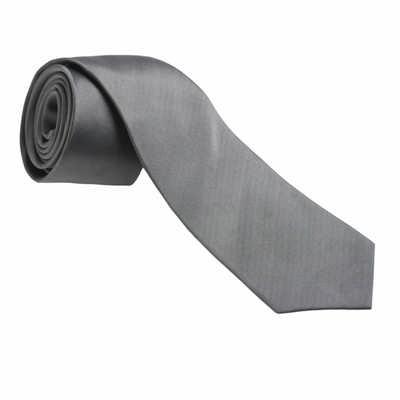 Jean-Louis Scherrer Silk Tie Costume Grey SFC352_ORSO_DEC