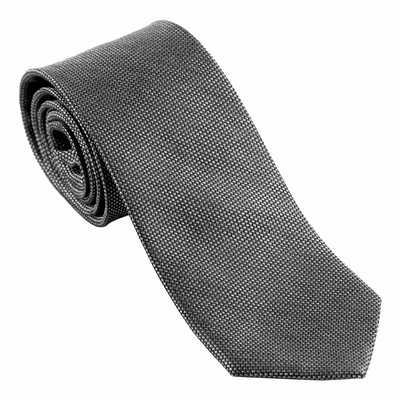 Ungaro Silk Tie Leone Black - (printed with 1 colour(s)) UFC031A_ORSO_DEC