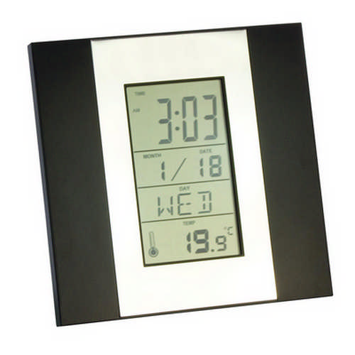 Northwest desk clock - (printed with 1 colour(s)) G1032_ORSO_DEC
