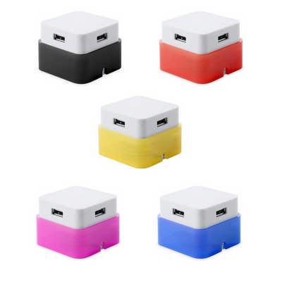 USB Hub Dix - (printed with 1 colour(s)) M4635_ORSO_DEC
