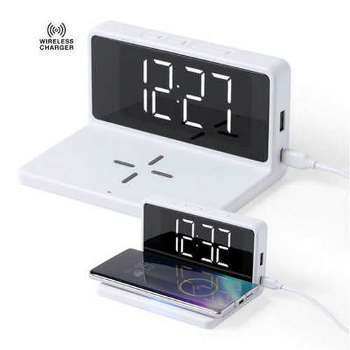 Alarm Clock Charger Minfly - (printed with 1 colour(s)) M6512_ORSO_DEC