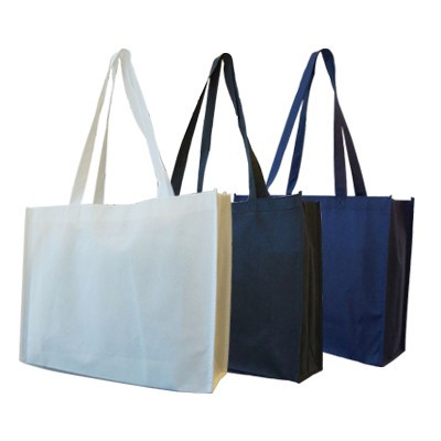 Non Woven Trade Show Bag (With Gusset) (B06_PENALocal_PENA)