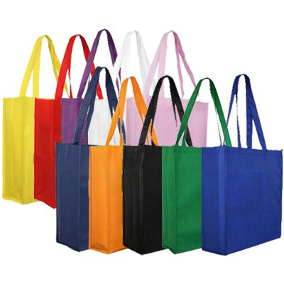 Non Woven Large Tote Bag (With Gusset) (B08_PENALocal_PENA)