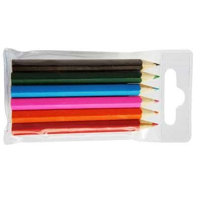 6 Pencils PVC Pack Pen (P183_PENA)