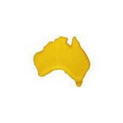 Australia Map Yellow (S44_PENA)