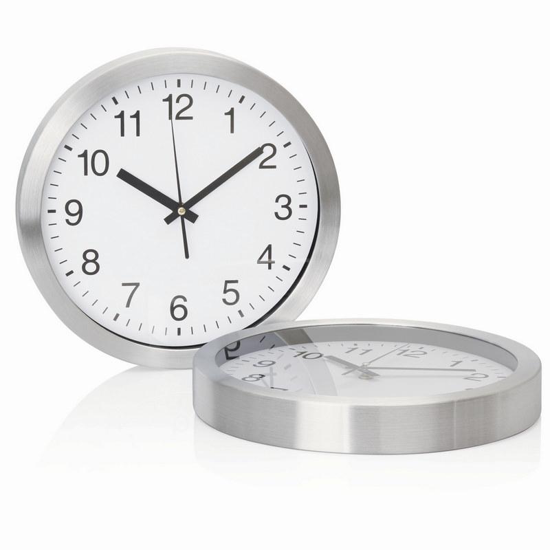 30cm Aluminium Wall Clock C308_GLOBAL