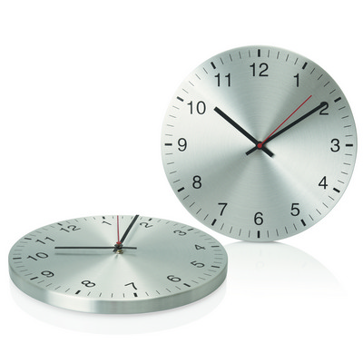30cm Aluminium Wall Clock C431_GLOBAL