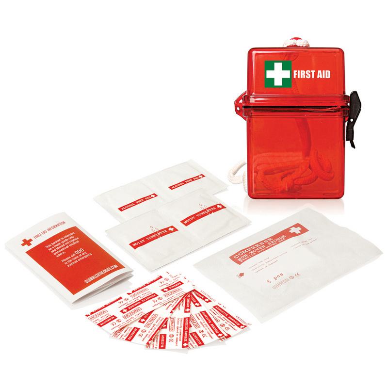 15pc Waterproof First Aid Kit FA103_GLOBAL
