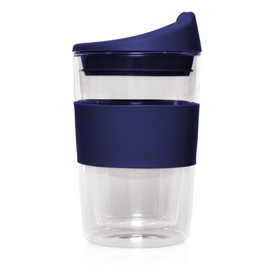 Eco Coffee Cup Glass Double
