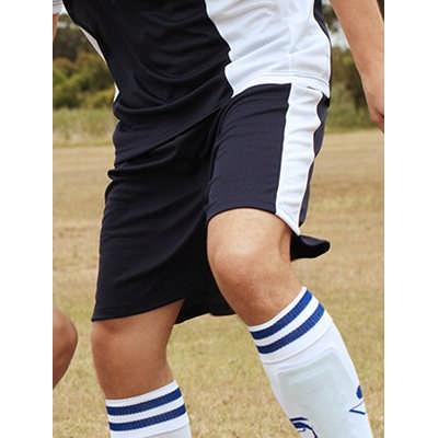 Unisex Adults Soccer Panel Shorts (CK618_BOC)