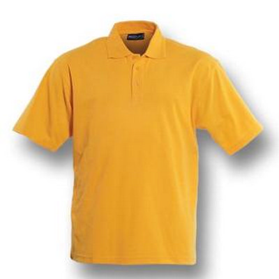 Plain Colour Poly Face Cotton Backing SS Polo (CP1601_BOC)