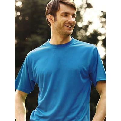 Unisex Adults Plain Breezeway Micromesh TeeShirt (CT1207_BOC)