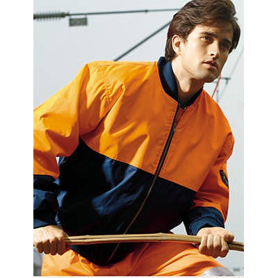 Unisex Adults Hi-Vis Flying Jacket(Lined) (SJ0320_BOC)