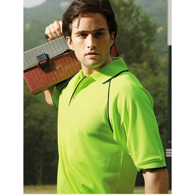 Unisex Adults Hi-Vis Breezeway Polo (SP0542_BOC)