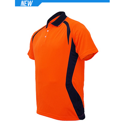 Unisex Adults Hi-Vis Panel Polo (SP0717_BOC)