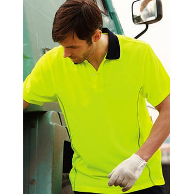 Unisex Adults Hi-Vis Stitch Essentials Polo (SP1241_BOC)