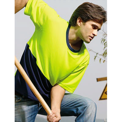 Unisex Adults Hi-Vis Safety Tee (ST0691_BOC)