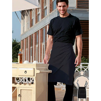 Polyester Drill Half Apron -With Pocket (WA0604_BOC)