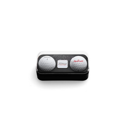 Standard 2-Ball Capsule with Marker - Titleist Velocity - (printed with 1 colour(s)) 2BTUVEL_PPI