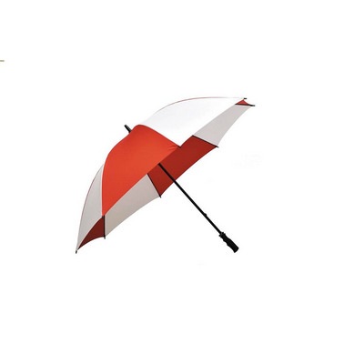 Ariston Fairway Umbrella - Red  White (FGU304_PPI)
