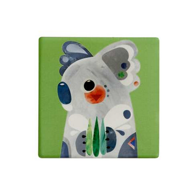 Maxwell & Williams Pete Cromer Ceramic Square Tile Coaster 9.5cm Koala (DU0084_PPI)