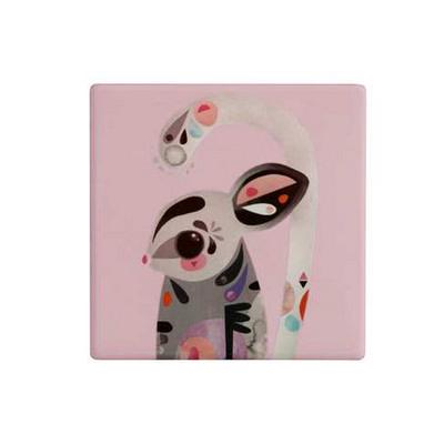 Maxwell & Williams Pete Cromer Ceramic Square TileCoaster 9.5cm SugarGlider (DU0090_PPI)