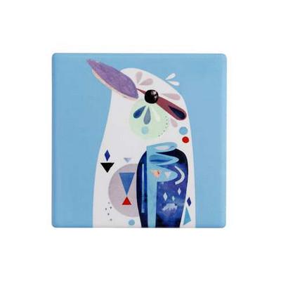 Maxwell & Williams Pete Cromer Ceramic Square Tile Coaster 9.5cm Kookaburra (DU0093_PPI)