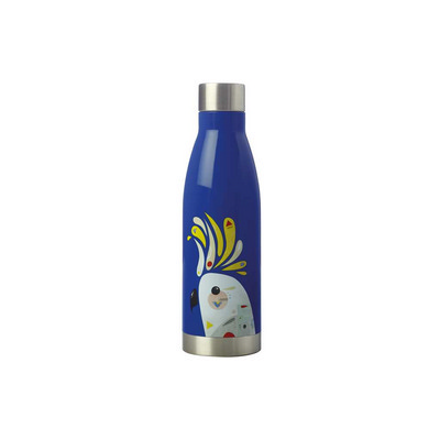 Pete Cromer Double Wall Insulated Bottle 500ML Cockatoo (JR0009_PPI)