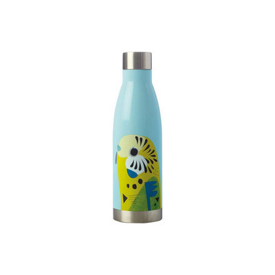 Pete Cromer Double Wall Insulated Bottle 500ML Budgerigar (JR0010_PPI)