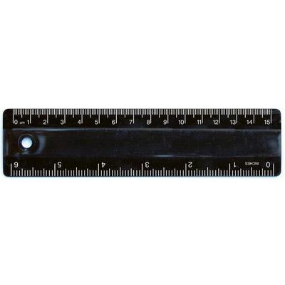 Ruler 15cm Black (RULE15CM002_PPI)