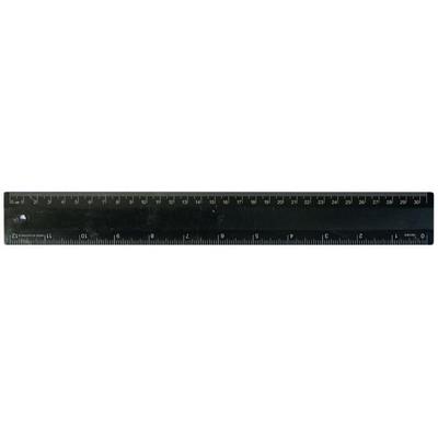 Ruler 30cm Recycled Black (RULE30CM035_PPI)
