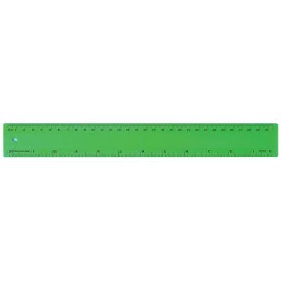 Ruler 30cm Fluro Green (RULE30CM012_PPI)