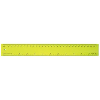 Ruler 30cm Fluro Yellow (RULE30CM009_PPI)