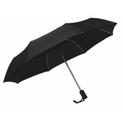 Ariston Kompakt Umbrella - Black (KU202_PPI)