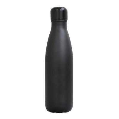 Sierra Stainless Steel Drink Bottle - Black (SRB03_PPI)