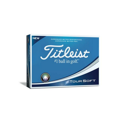 Titleist Tour Soft - Singles - (printed with 1 colour(s)) T4024S1NP_PPI