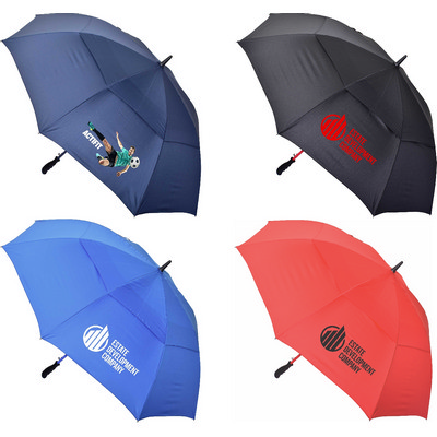 Deluxe Auto Golf Umbrella  - (printed with 1 colour(s)) U57_PREMIER