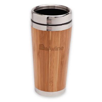 Bamboo Travel Mug - (printed with 1 colour(s)) R5600_PREMIER