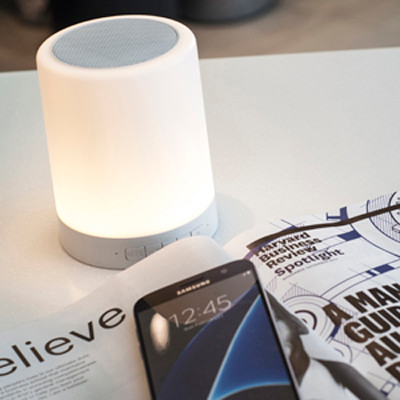 Touch Lamp Speaker - (printed with 1 colour(s)) CM5247_PROMOITS