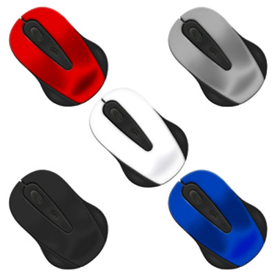 Nano II Wireless Mouse - (printed with 1 colour(s)) MO101_PROMOITS