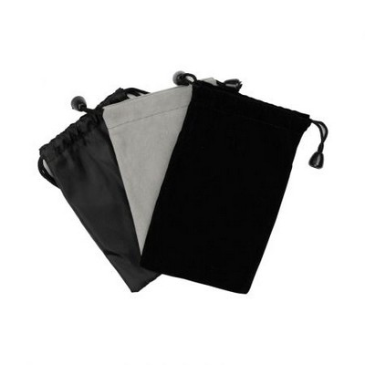 Velour Drawstring Pouch (110 x 85 mm) - (printed with 1 colour(s)) PK030s_PROMOITS